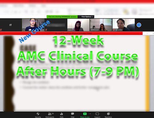 12-Week after hours Clinical Course 1st Feb 2021